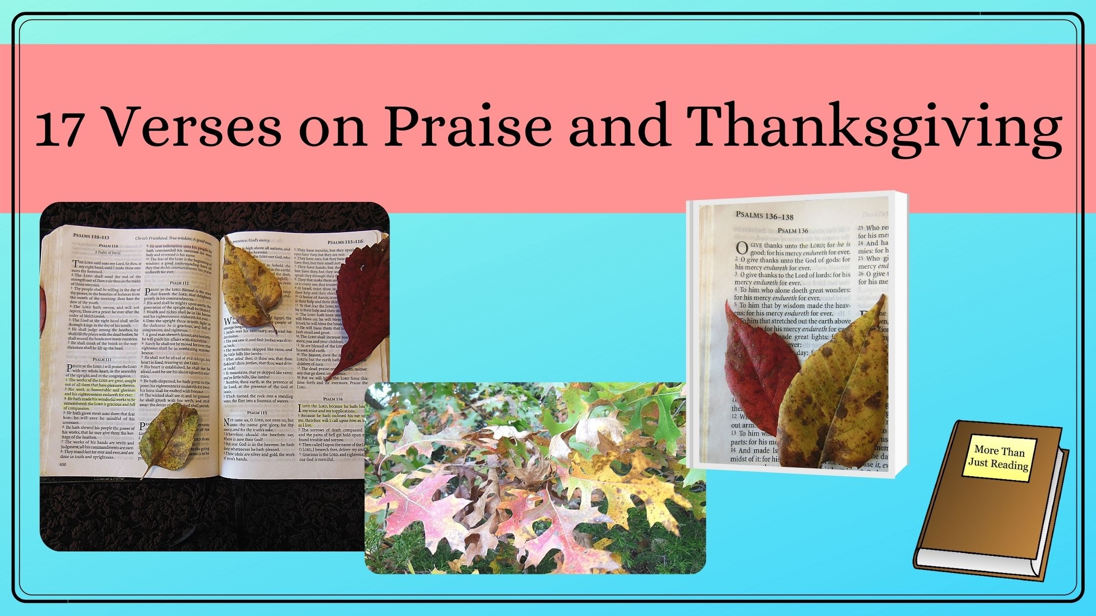 Bible verses on thanksgiving