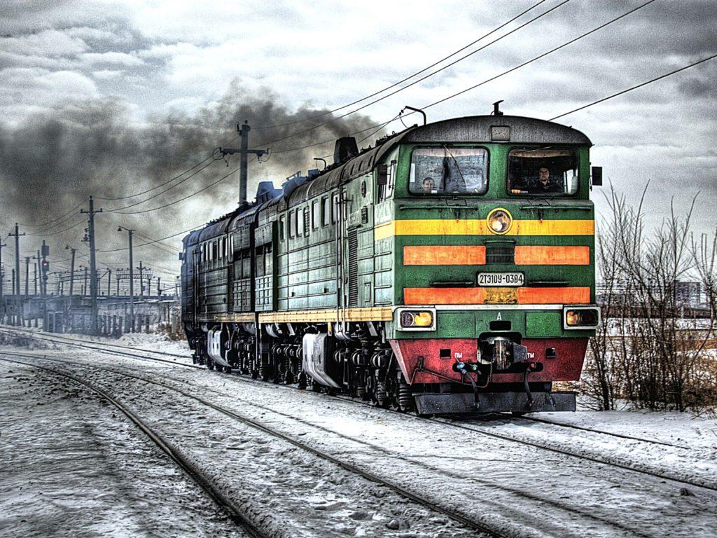 train in the snow   Gladys Aylward