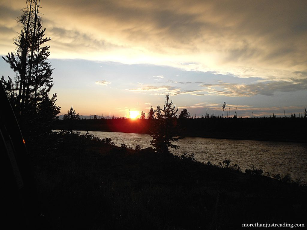 A sunset over a river | Psalm 145