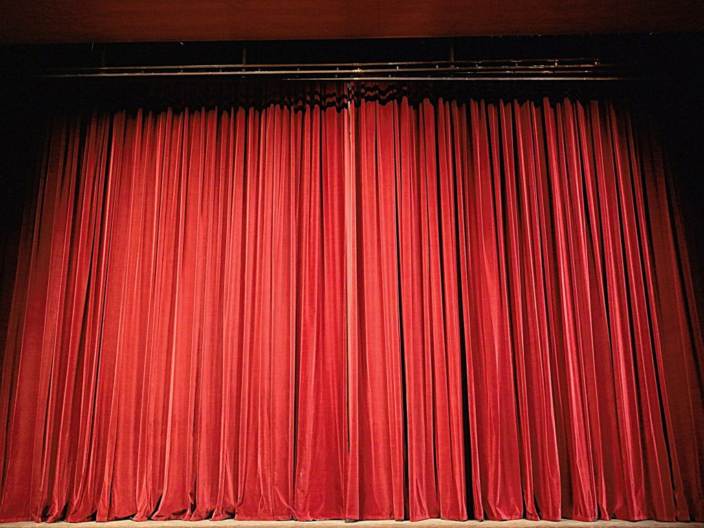 Theater curtains | A Peep Behind The Scenes