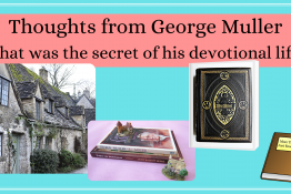 George Muller Books, Bible, and English village