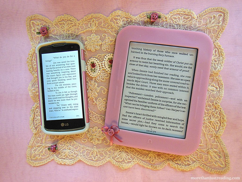 e-reader and phone | e-readers versus phones
