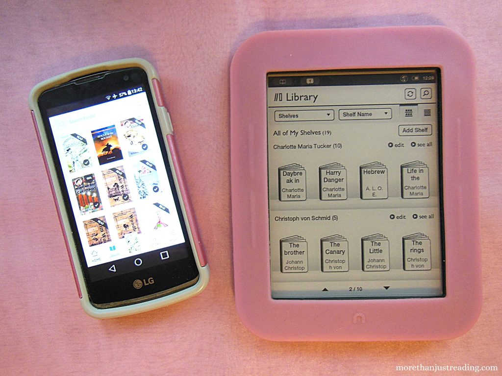 e-reader and cell phones | e-readers versus phones