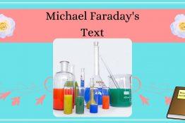 laboratory tubes and bottles | Michael Faraday