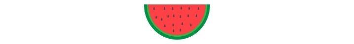 watermelon, indoor summer activities