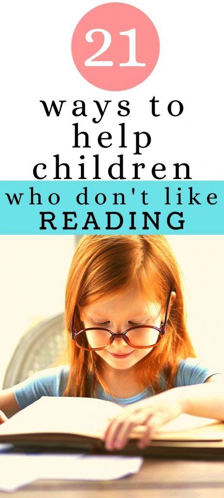 girl with glasses reading   reading strategies for children