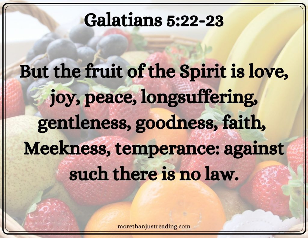 fruit   the Gospel